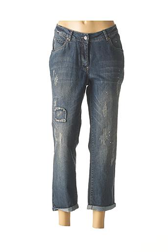 Jeans coupe slim bleu APRICO pour femme