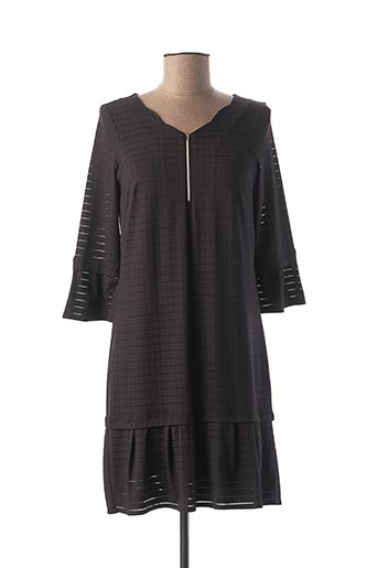 Robe mi-longue noir MADO ET LES AUTRES pour femme