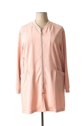 Veste casual rose FRANSA pour femme