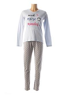 Pyjama gris ESPRIT pour femme