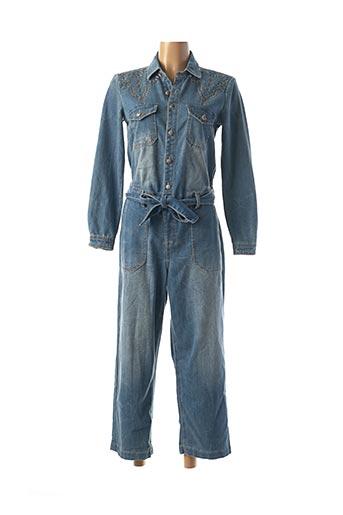 Combi-pantalon bleu CREAM pour femme