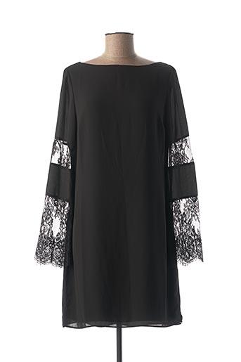 Robe courte noir DIEGO REIGA pour femme