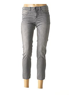 Pantalon 7/8 gris SISLEY pour femme