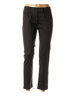Pantalon 7/8 noir NINATI pour femme