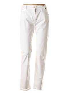 Pantalon casual blanc SCAPA pour femme