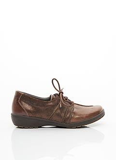 Chaussures de confort marron SUAVE pour femme