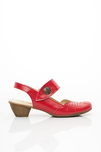 Escarpins rouge ELLES-MEMES pour femme
