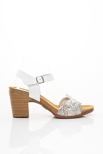 Sandales/Nu pieds blanc PEDRO TORRES pour femme