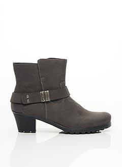 Bottines/Boots gris RIEKER pour femme