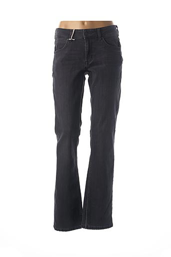Jeans coupe droite noir MUSTANG pour femme