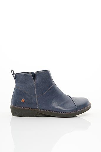 Bottines/Boots bleu ART pour femme