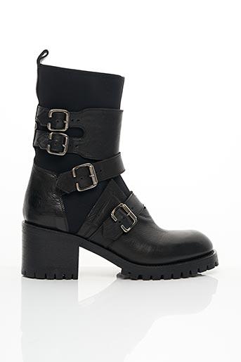 Bottines/Boots noir FRUIT pour femme