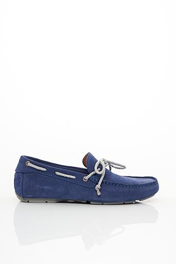 Chaussures bâteau bleu PELLET pour femme