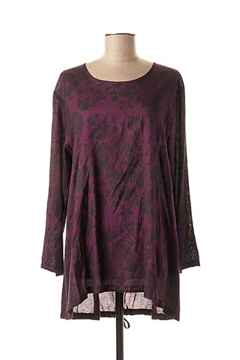 Tunique manches longues violet MASAI pour femme