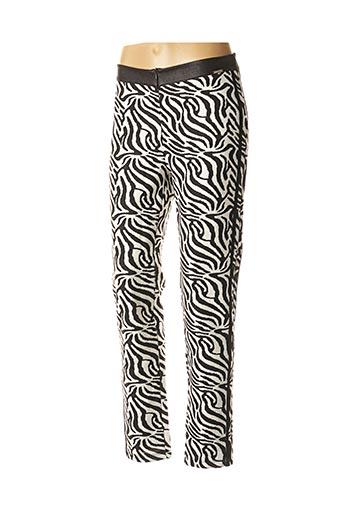 Pantalon casual noir MALOKA pour femme