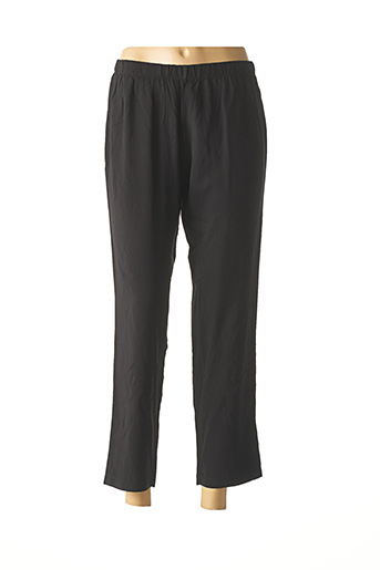 Pantalon casual noir LA STAMPA pour femme
