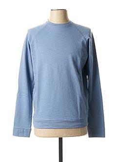 Sweat-shirt bleu TTILIKA pour homme