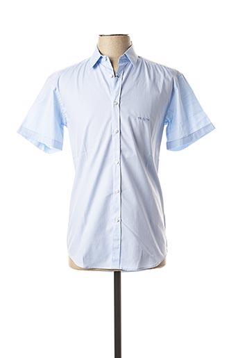 Chemise manches courtes bleu MISE AU GREEN pour homme