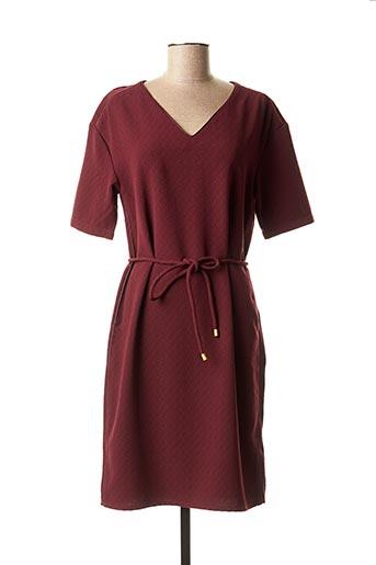 Robe mi-longue rouge WMN pour femme