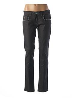 Pantalon casual noir LOIS pour femme