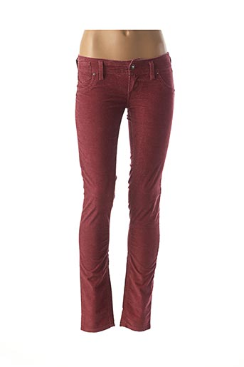 Jegging rouge FREESOUL pour femme