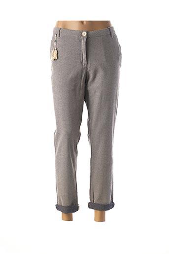Pantalon chic gris WMN pour femme