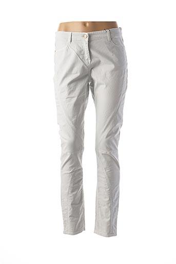 Pantalon casual gris FRIDAY pour femme