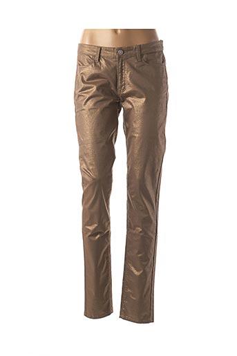 Pantalon casual marron CKS pour femme