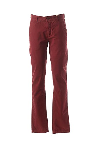 Pantalon casual rouge R95TH pour homme