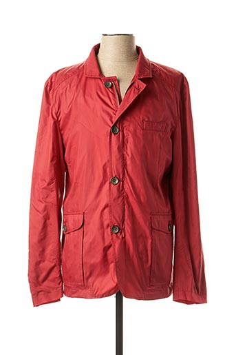 Imperméable/Trench rouge CH. K. WILLIAMS pour homme