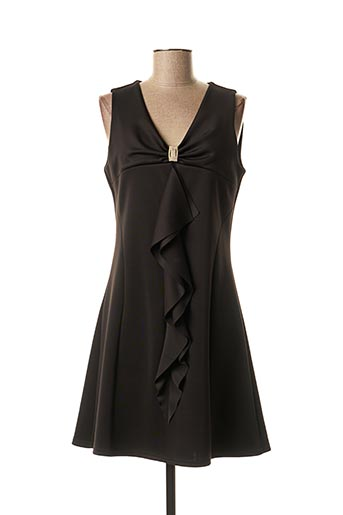 Robe courte noir JUS D'ORANGE pour femme