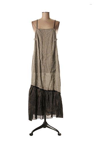 Robe longue gris ROSA ROSAM pour femme