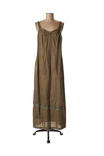 Robe longue marron SOLOLA pour femme