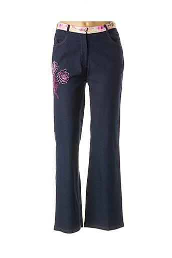 Jeans bootcut bleu EVALINKA pour femme