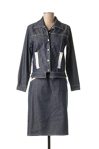 Veste/jupe bleu EVALINKA pour femme