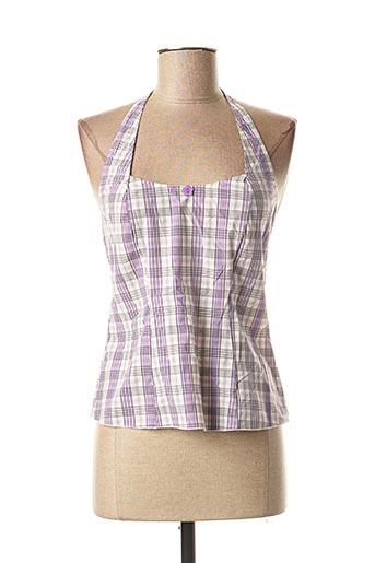 Pyjama violet ANTIGEL pour femme