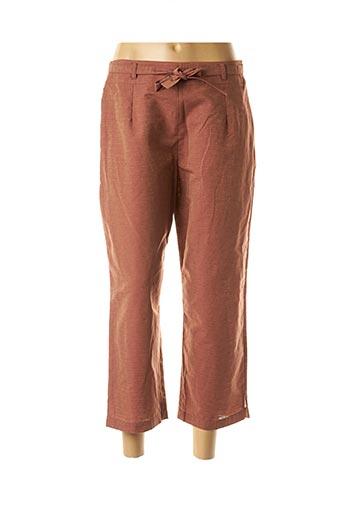 Pantalon casual orange COCO MENTHE pour femme