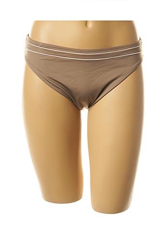 Bas de maillot de bain marron LISE CHARMEL pour femme