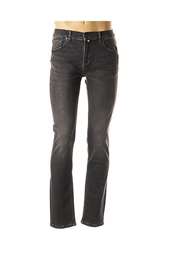 Jeans coupe slim noir SERGE BLANCO pour homme