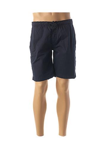 Bermuda bleu SERGE BLANCO pour homme