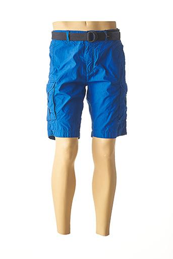 Bermuda bleu PETROL INDUSTRIES pour homme