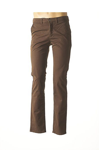 Pantalon casual marron CAMBRIDGE pour homme