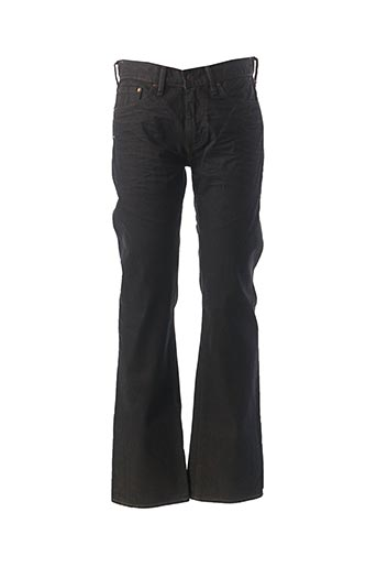Jeans coupe droite noir LEVIS pour homme