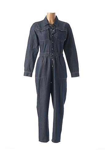 Combi-pantalon bleu NA-KD pour femme