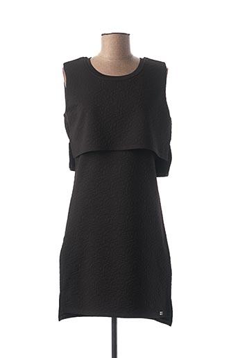 Robe mi-longue noir BELLFIELD pour femme