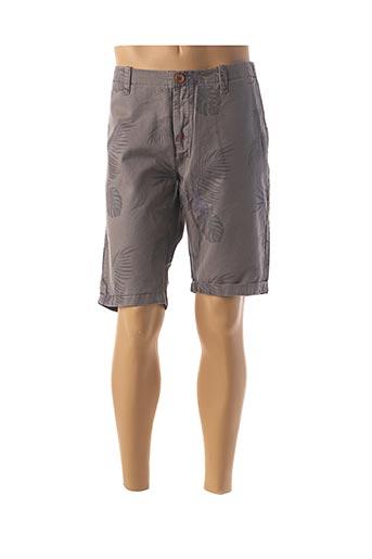 Bermuda gris VARGAS pour homme