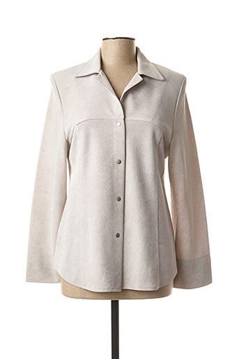 Veste casual gris CARA SARTA pour femme