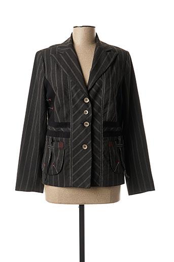 Veste chic / Blazer marron GRIFFON pour femme