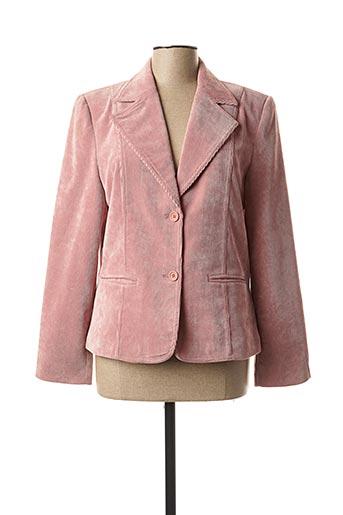 Veste chic / Blazer rose FINNKARELIA pour femme