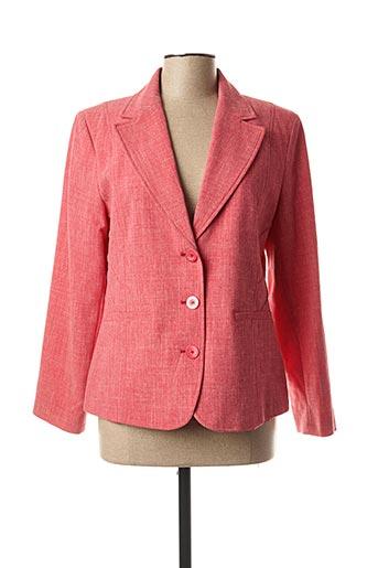 Veste chic / Blazer rouge FINNKARELIA pour femme